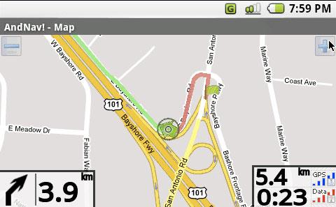 android navigation