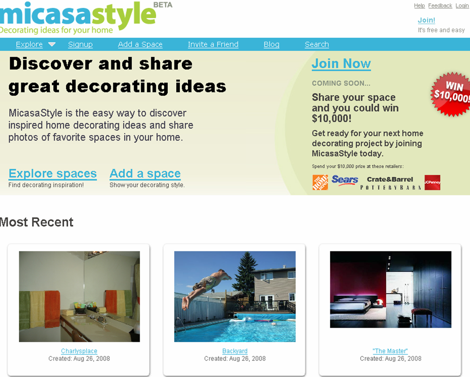 micassa startup wohn community